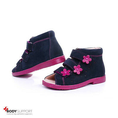 Kids Orthopedic Shoes Boys Girls Toddler Baby Size Sandals Leather Insoles Boots