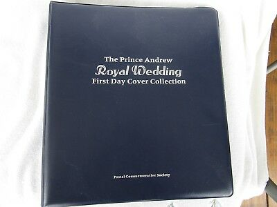 The Prince Andrew Royal Wedding Firsr Day Cover Coiiection~20 COVERS!!