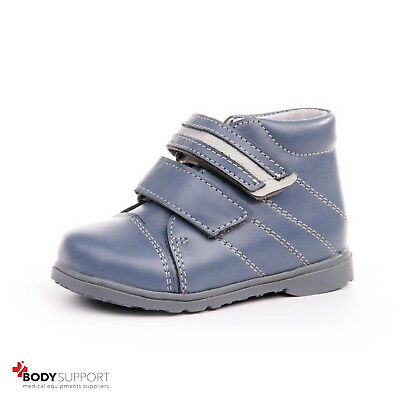 Kids Orthopedic Shoes Sandals Revention Flat Feet Girls Boys Leather Ankle Brace
