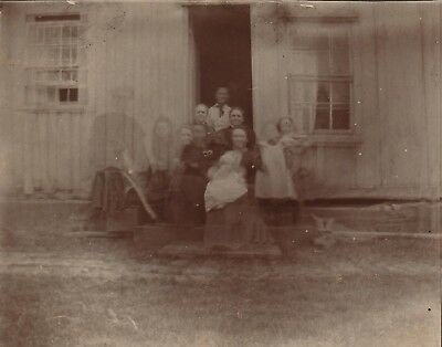 "UNUSUAL 1890s Photo Creepy ""Ghosts of Ancestors"" Double Exposure? Spiritualism"