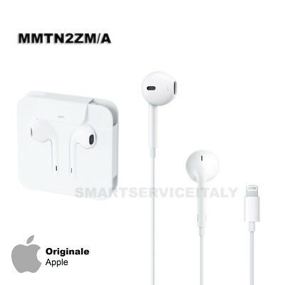 Cuffie EarPods Originali Apple MMTN2ZM A Auricolari Per iPhone 7 8 PLUS X  Bianco 5182ad1dc89d