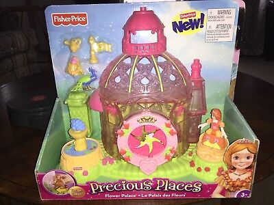 Precious Places Flower Castle  Fisher Price Toy