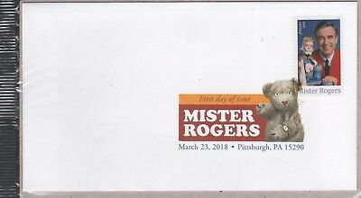 Us 2018 Scott 5274 Mr Rogers King Friday 13Th- Forever Stamp Dcp First Day Cover