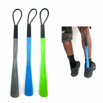 """18.5"""" Extra Large Plastic Shoehorn - 18.5"""" Long Shoe Horn Handle New Pick Color"""