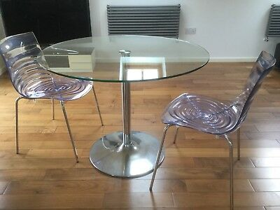 CALLIGARIS L\'EAU CLEAR Dining , Designer Chairs x 2, Not Starck ...