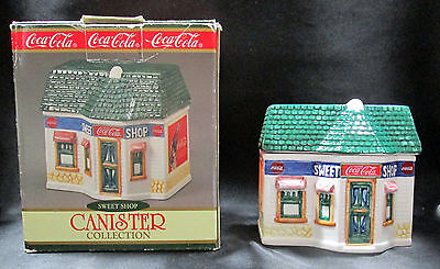 Sweet Shop Coca-Cola Canister Collection Ceramic Building Cavanagh 1997