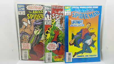 Marvel Comics The Amazing Spider-Man 3 Issues # 386 387 388