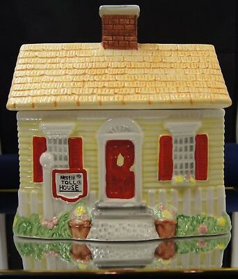 NESTLE TOLL HOUSE Spring House Cookie Jar LIMITED EDITION 1992 NIB