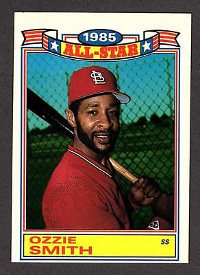 1986 Topps All Star 16 Ozzie Smith St Louis Cardinals Hof