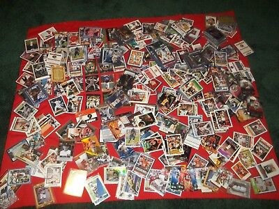 "Huge Lot 200 Older Nba & Nfl Sports Cards ""stars & Inserts Only"" Free Shipping"