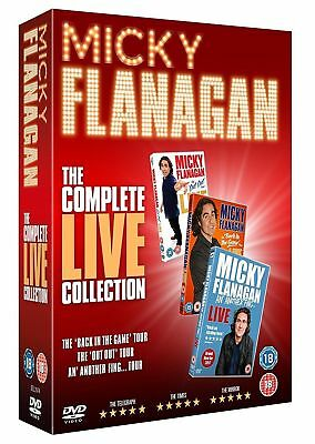 MICKY FLANAGAN the complete live collection Region 2 New DVD Fast Dispatch