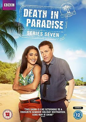 DEATH IN PARADISE series/season 7 Region 2 New DVD Free and Fast Dispatch