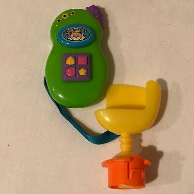 Evenflo Exersaucer Replacement Toy Part Switch-A-Roo Phone Teether Rattle Toy