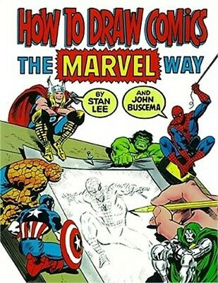 How to Draw Comics the Marvel Way (Paperback or Softback)