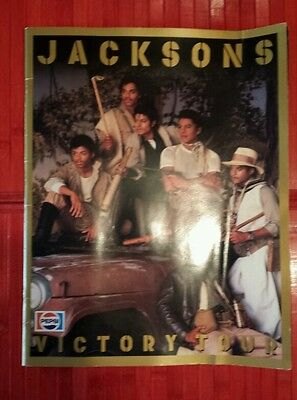 the Jacksons 1984 Victory tour book ( Michael Jackson )