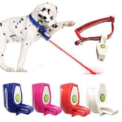 Pet Cat Dog Teaser Exercise LED Light Laser Ball Automatic Interactive Toy Kits