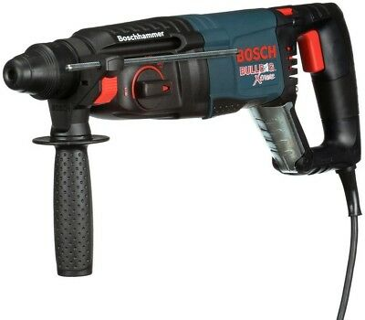 Bosch 8 Amp Cord SDS-Plus Bulldog Xtreme Variable Speed Auxiliary Rotary Hammer