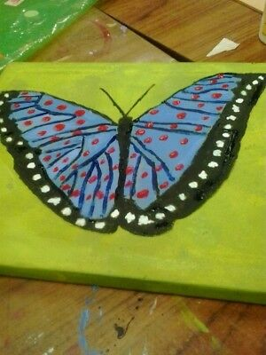 New Home Painting of butterfly