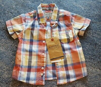 Baby boys Mayoral shirt age 6 months. New with Tags.