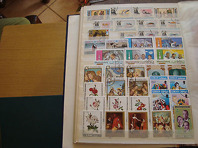 MIDDLE EAST - 39 stamps canceled (all state) stamp