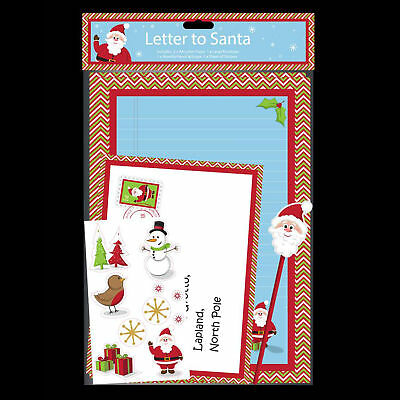 Christmas write letter to santa pack stickers pencil eraser theme machine christmas childrens letter to santa activity pack spiritdancerdesigns Gallery