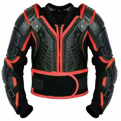 Kids Children Body Armour Motocross Bikes Jacket Spine Elbow Shoulder Protection