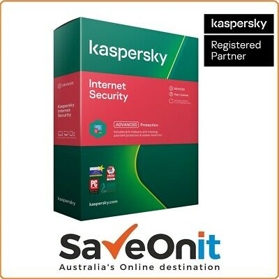 Kaspersky Internet Security 2019 3 PC 2 Year for Windows Email license key