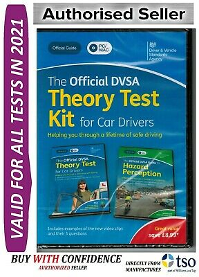 The Official DVSA Complete Theory Test Kit For PC and MAC. Valid For 2020 KiT