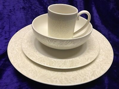 Denby MONSOON LUCILLE GOLD 4 Piece Place Setting & Denby Monsoon Lucille Silver Tableware u0026 Buy Denby Monsoon Lucille ...
