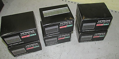 6 x Boxes of HITACHI 25mm Brad nails pin nail gun 16ga 2nd fix bostitch paslode