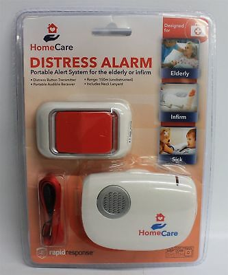 NEW RAPID RESPONSE HomeCare 150m Range Distress Alarm Portable Alert