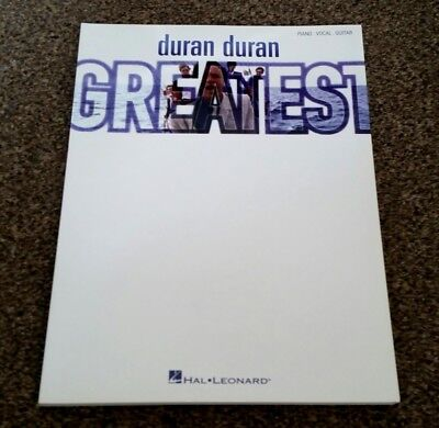 DURAN DURAN Greatest AUSTRALIA Issue Song And Sheet Music Book