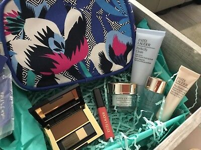 Estee Lauder Gift SET Day wear Perfectly Clean Tempting melon Illuminator travel