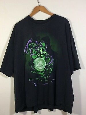 WB Looney Tunes 1997 Mens Fortune Teller Taz Crystal Ball Bugs Bunny Shirt XXXL