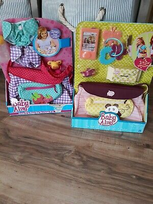 Baby Alive Change N Go  Diaper Bag  New Rare W/ Paci And Bottle   In Stock