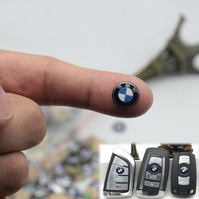 11 MM 2x for Sticker Emblem BMW Key Fob Remote Badge Logo
