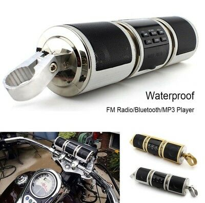 Mt487 Motorcycle Motorbike Mp3 Music Player Bluetooth Water-resistant LED