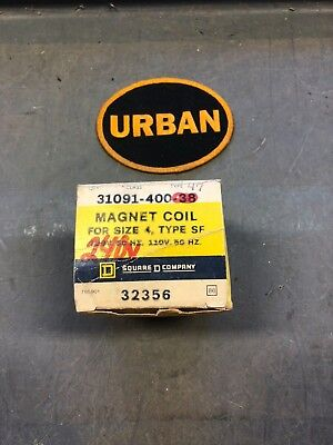 Square D 31091-400-47 Magnet Coil For Size 4, 240 Volt *new In Box*