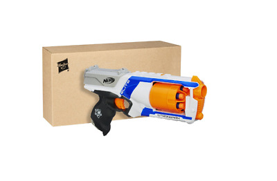 Kids Pistol Toy Nerf N Strike Elite Strongarm 6 Dart Blaster Darts Gun New