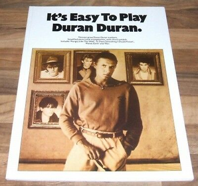 DURAN DURAN Song And Sheet Music Book - It's Easy To Play Duran Duran
