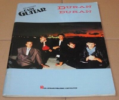 DURAN DURAN Easy Guitar USA Issue Song And Sheet Music Book