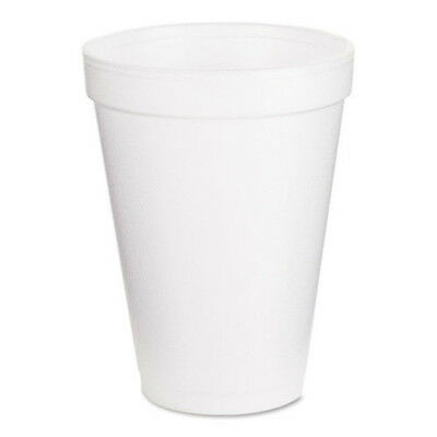 Dart Drink Foam Cups, 12 oz, White, 1000 ct White Tea Soft Drink 40 Pack of 25