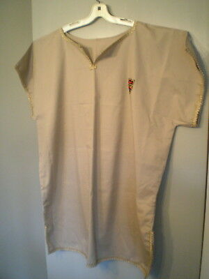 Medieval Renaissance Costume Simple Basic Tunic with Gold Trim~ Large