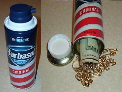 Stash Box Barbasol Home Security Cash Safe Can Secret Container Hidden Diversion