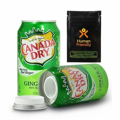 Security Stash Box Secret Container Canada Dry Soda Safe Can Hidden Diversion US