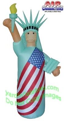 Air Blown Inflatable Patriotic Statue Of Liberty SKIN COLOR