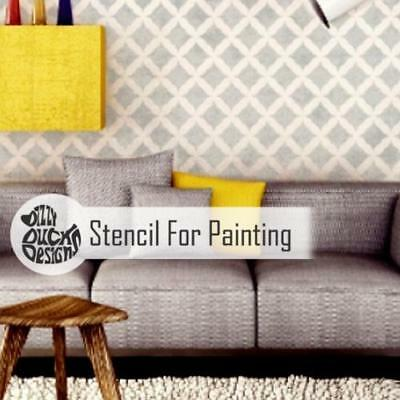 MADEIRA Furniture Wall Floor Stencil for Paint
