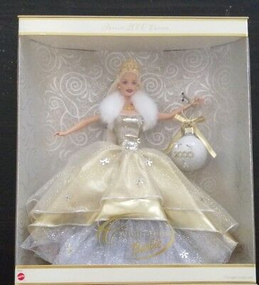 New In Box: Holiday Celebration Barbie Special Year 2000 Edition Y2K Doll MATTEL