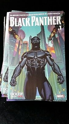 BLACK PANTHER COMIC BOOK #1 Variant AMC DOLBY THEATER Opening Night 2018 RARE!..