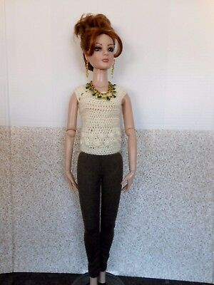 "OOAK Tonner 22"" American Model Fashion with Jewellery"